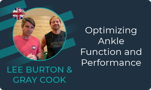 Optimizing Ancle Function and Performance